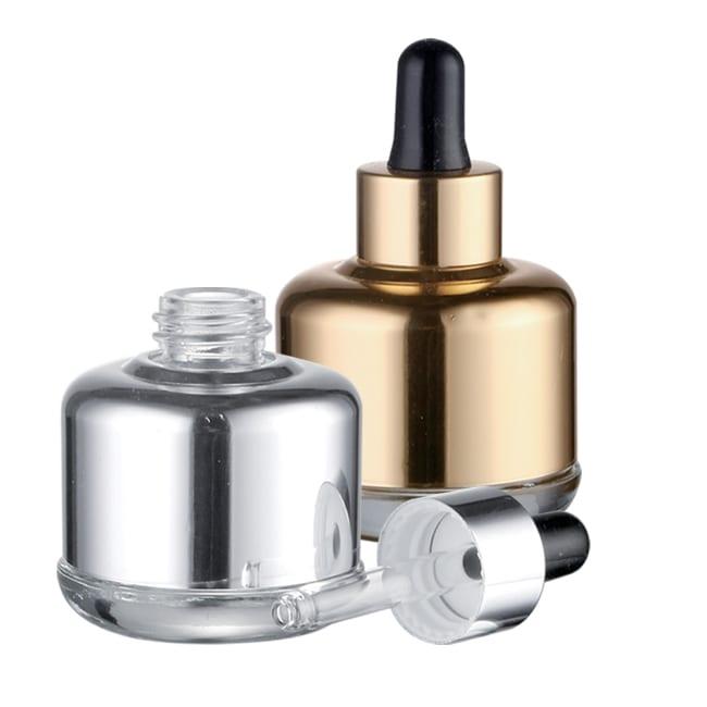 Metallic Glass Bottle Dropper | SLWA | APC Packaging