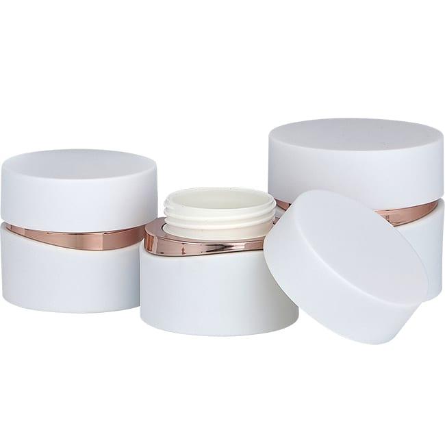 Acrylic Jar with Metallic Accent   XRWSY   APC Packaging