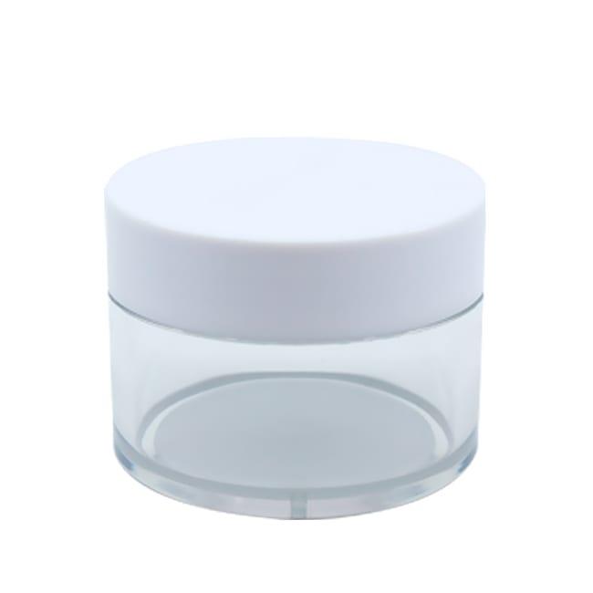 Clear PET Round Jar l XKEJ l APC Packaging