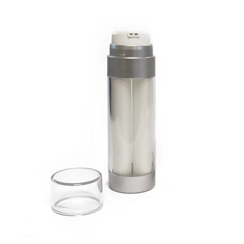 Dual Chamber Airless Bottle | DCH2X | APC Packaging