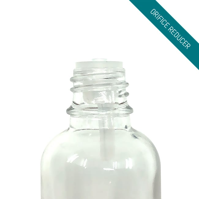 Orifice Reducer for Clear Glass Bottles | CREW l APC Packaging