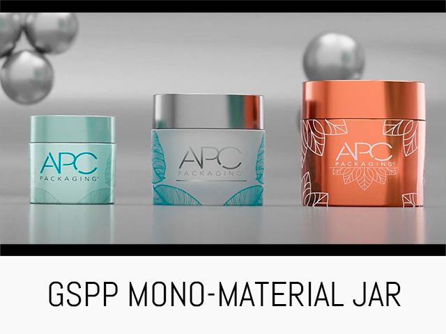MONO MATERIAL JAR | GSPP | APC PACKAGING