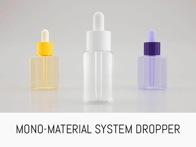 mono material dropper