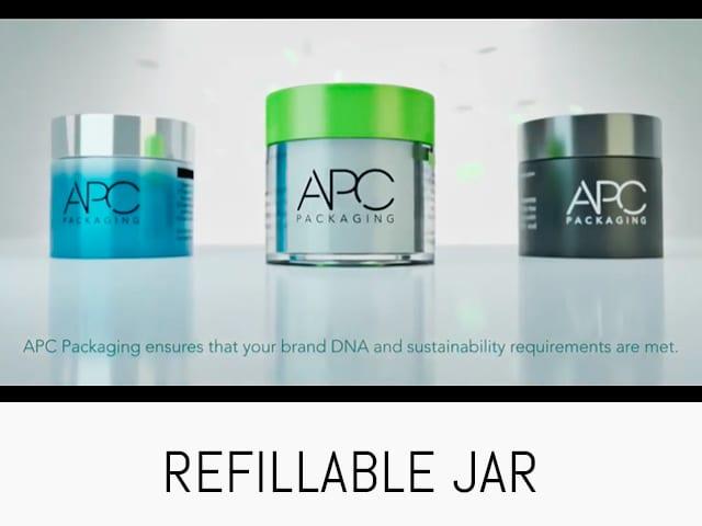 REFILLABLE JAR