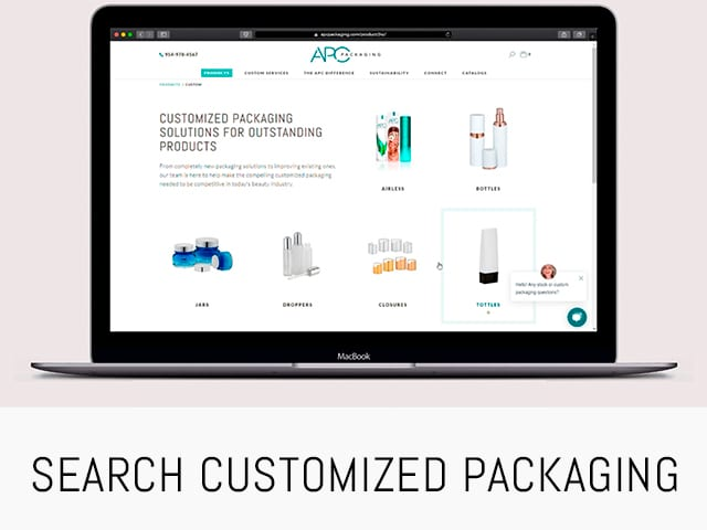 SEARCH CUSTOMIZED PACKAGING