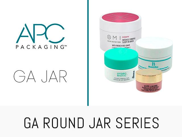 BEAUTY JAR ROUND JAR SERIES | GA | APC PACKAGING