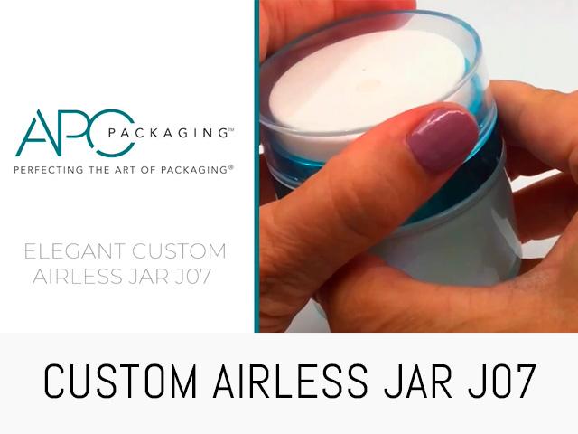 CUSTOM AIRLESS JAR | J07 | APC PACKAGING