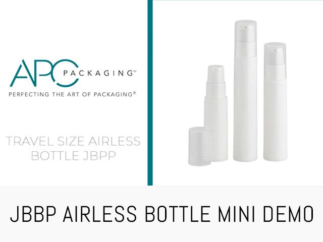 SAMPLE AIRLESS BOTTLE | JBPP | APC PACKAGING