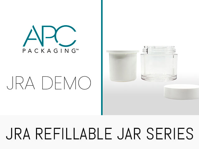 REFILLABLE JAR VIDEO DEMO | JRA | APC PACKAGING