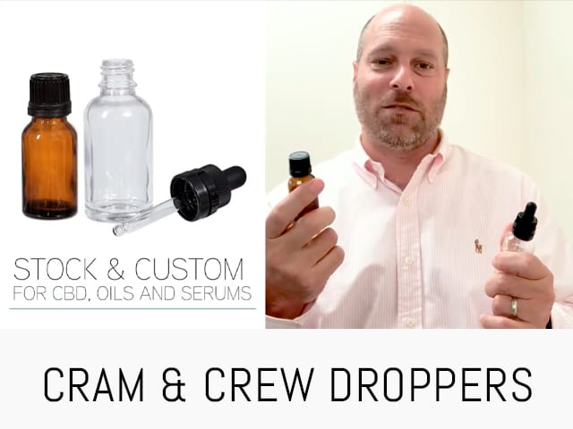 CRC & TAMPER EVIDENT DROPPERS