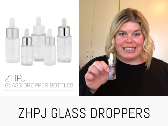 GLASS DROPPERS