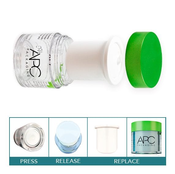 Refillable Jar for Beauty Products l APC Packaging