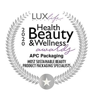 HEALTH BEAUTY & WELLNESS | AWARD | APC PACKAGING