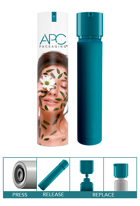 AIRLESS REFILLABLE SYSTEM