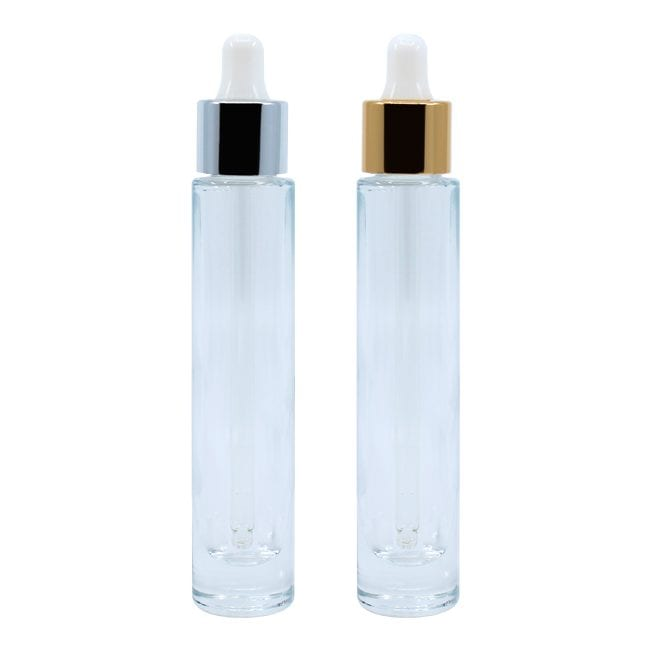 Clear Glass Bottle Dropper l KGAD013 l APC Packaging