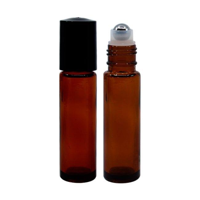Glass Amber Roller Ball | MVRB010 | APC Packaging