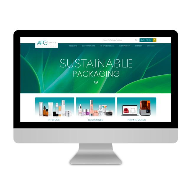 APC Packaging Website Refresh